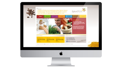 New Spice O'Life Website Launched